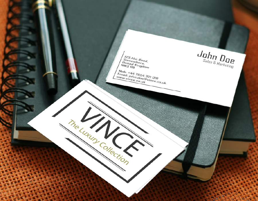 Vince - Business Cards